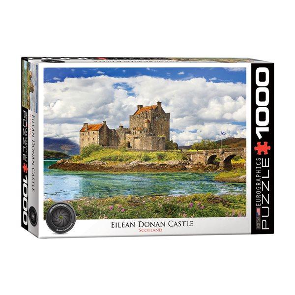 Casse-tête 1000 morceaux Château d'Eilean Donan