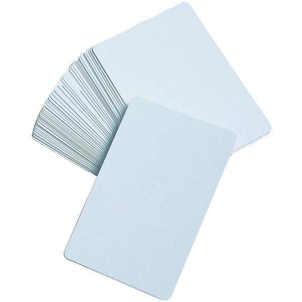 Carte à jouer blanche
