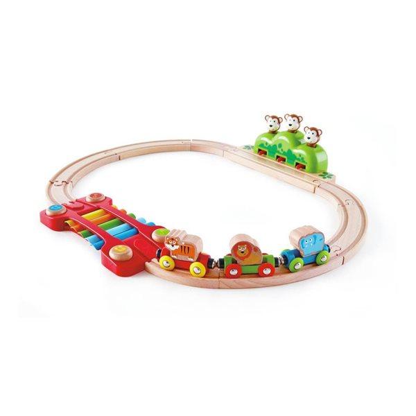Train musicale - Petits singes