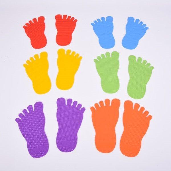 Empreintes de pieds pour marquage au sol