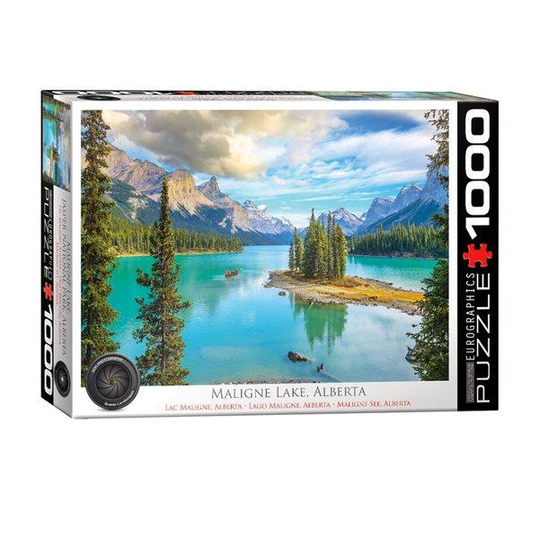 Casse-tête de 1000 morceaux Lac Maligne, Alberta