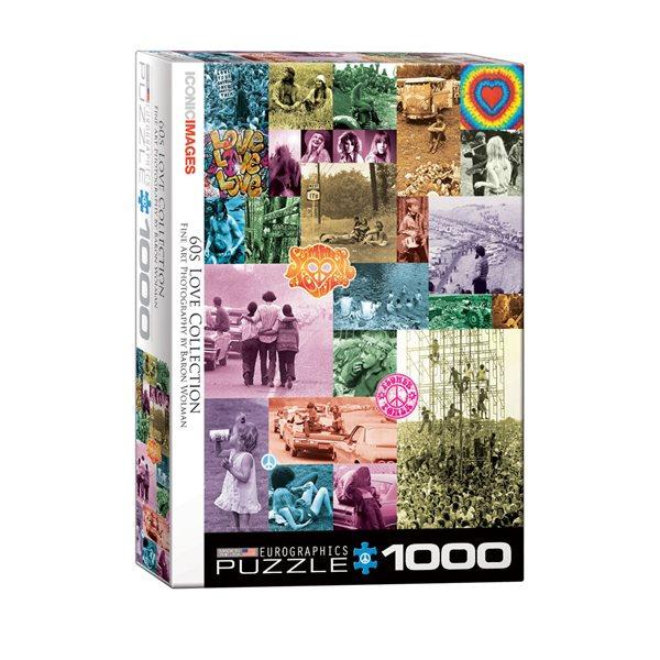 1000 PCS ANNÉES 60 LOVE COLLECTION