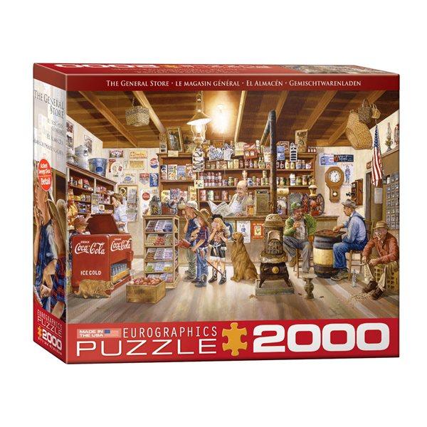 Casse-tête de 2000 morceaux Le magasin général