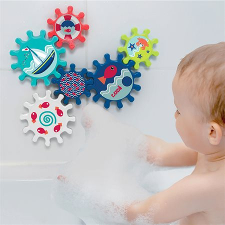 Engrenages de bain