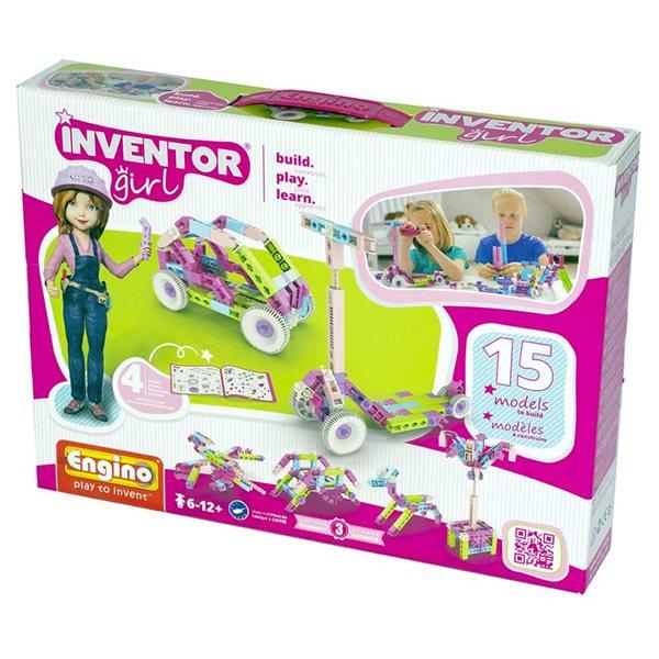 Inventor Girl - 15 modèles