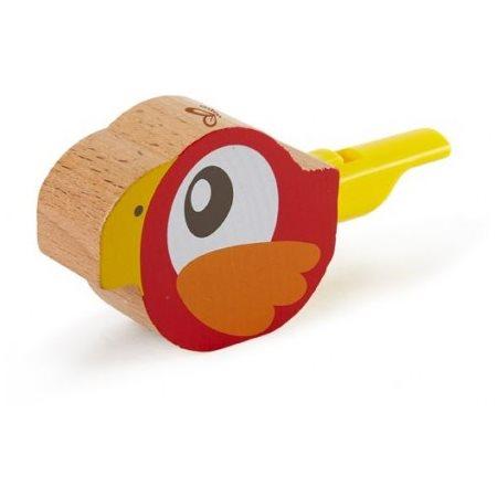 Sifflet oiseau rouge