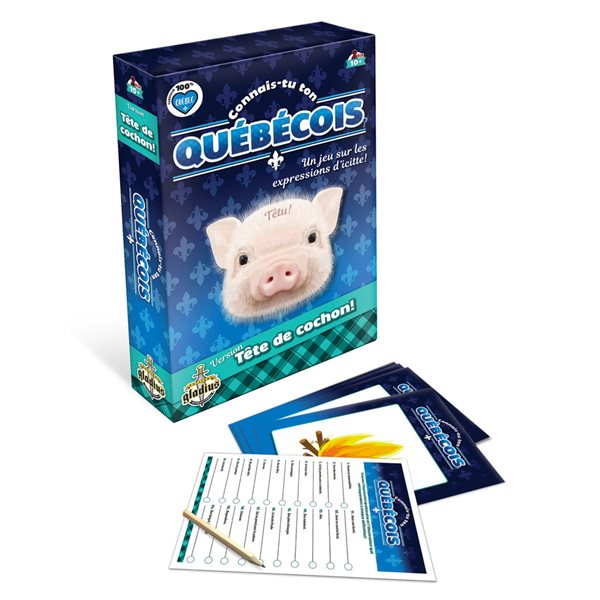 Jeu connais-tu ton Québécois? Tête de cochon!