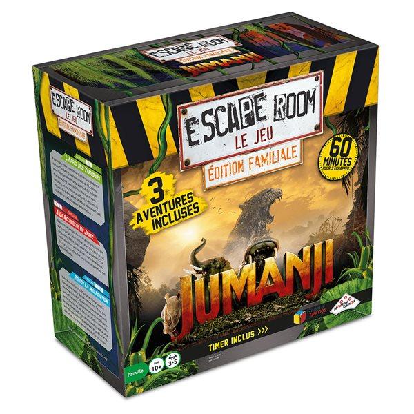 Jeu d'évasion Escape Room Jumanji