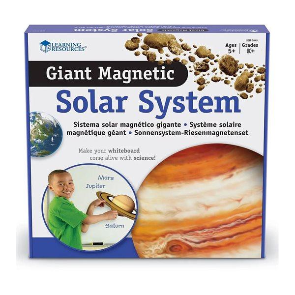 Système solaire géant magnétique