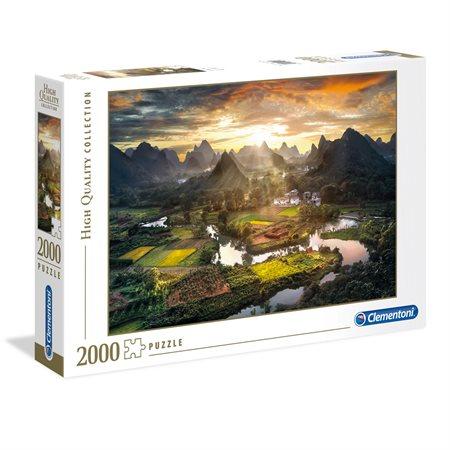 2000 PCS VUE DE CHINE
