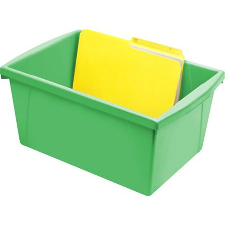 Bac de rangement de grand format Vert