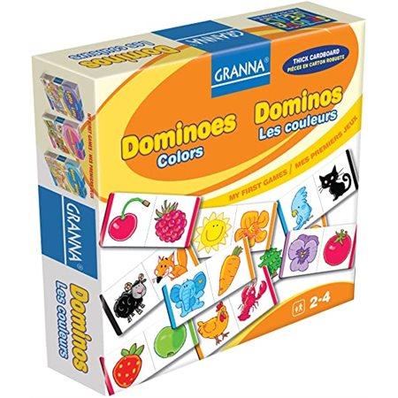 Dominos - Les couleurs