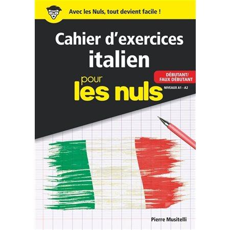 Cahier d'exercices italien pour les nuls