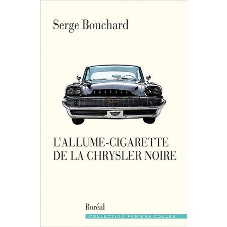 L'allume-cigarette de la Chrysler noire