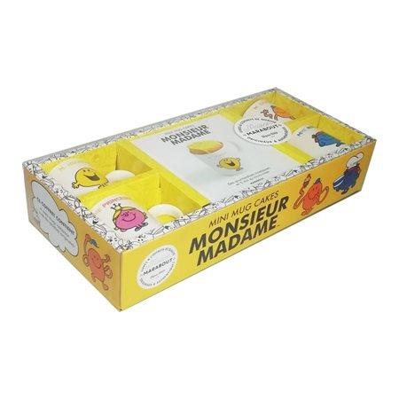 Coffret mini mug cakes Monsieur Madame