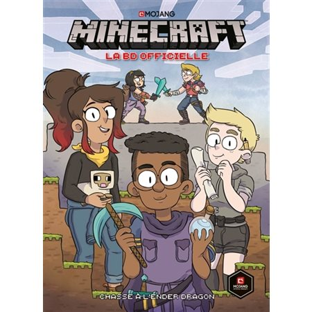 Chasse à l'Ender dragon, Tome 1, Minecraft