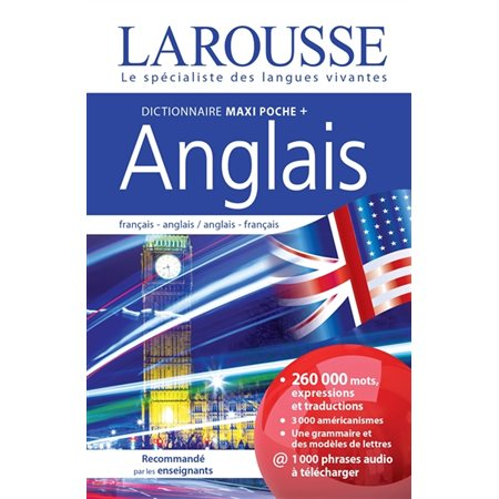 Dictionnaire maxipoche + anglais