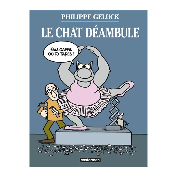 Philippe Geluck le chat deambule