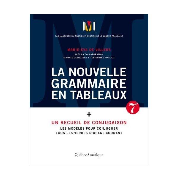 Nouvelle Grammaire en tableaux (La) [nouvelle édition] 2021
